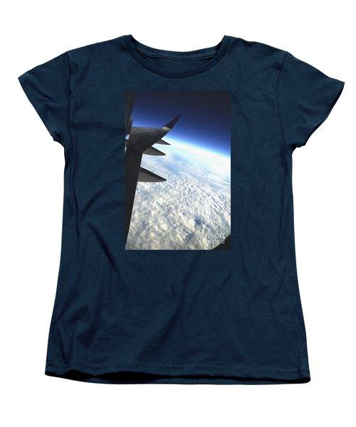 in Orbit Women's T-Shirt (Standard Cut) by Micah May