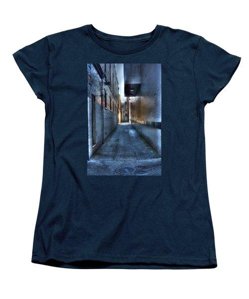 In The Alley Women's T-Shirt (Standard Cut) by Dan Stone