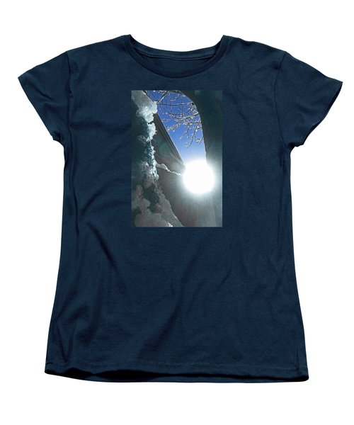 Women's T-Shirt (Standard Cut) featuring the photograph In The Cold Of The Sun by Steve Taylor