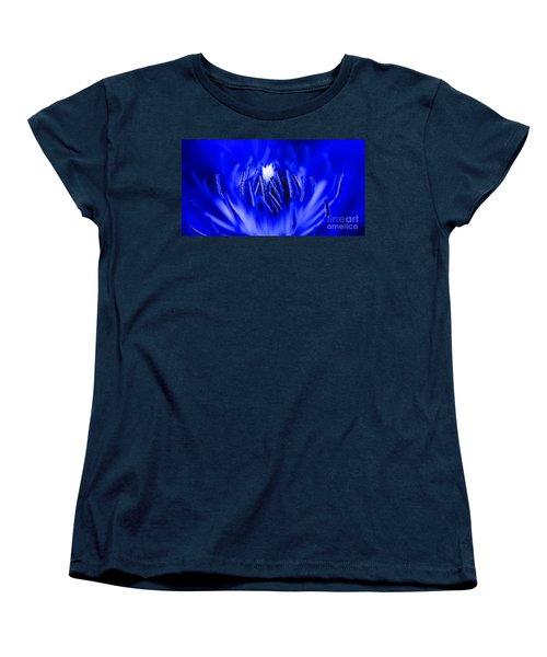 Inside A Flower Women's T-Shirt (Standard Cut) by Henrik Lehnerer