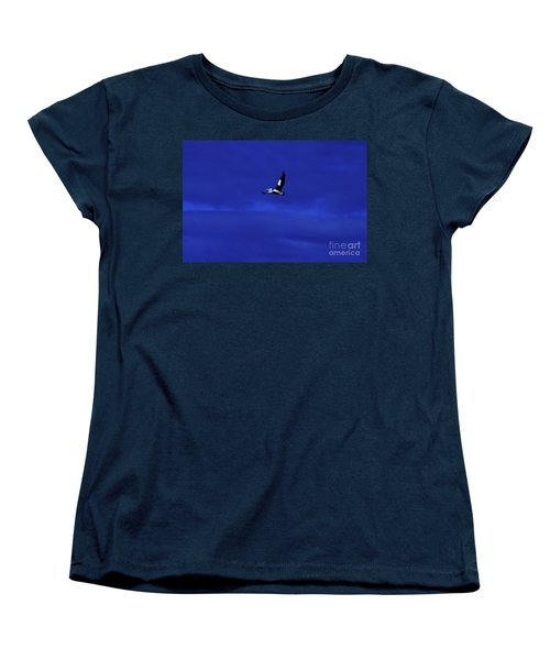 Women's T-Shirt (Standard Cut) featuring the photograph Into The Blue by Blair Stuart