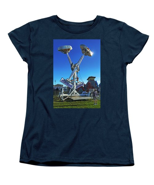 Women's T-Shirt (Standard Cut) featuring the photograph Into The Blue by Steve Taylor
