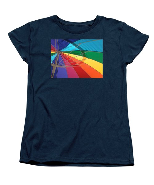 Women's T-Shirt (Standard Cut) featuring the photograph It's A Rainbow by David Pantuso