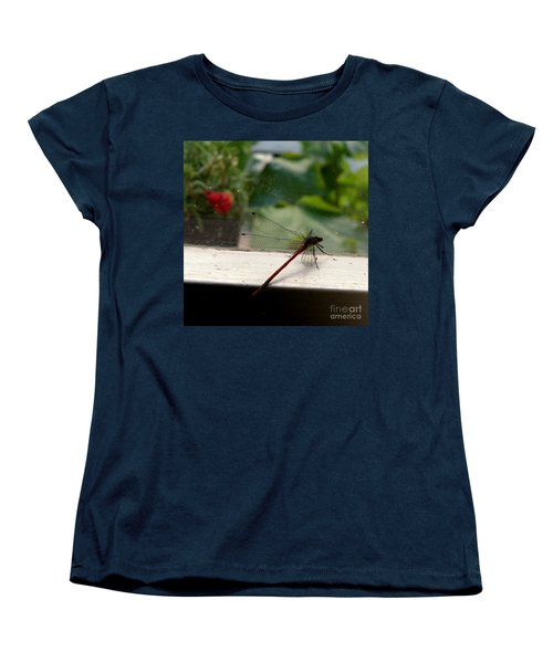 Women's T-Shirt (Standard Cut) featuring the photograph It's Always Greener by Lainie Wrightson