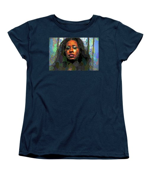 Women's T-Shirt (Standard Cut) featuring the photograph Jemai by Alice Gipson