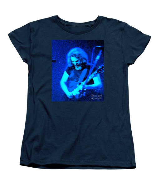 Women's T-Shirt (Standard Cut) featuring the photograph The Man In Blue by Susan Carella