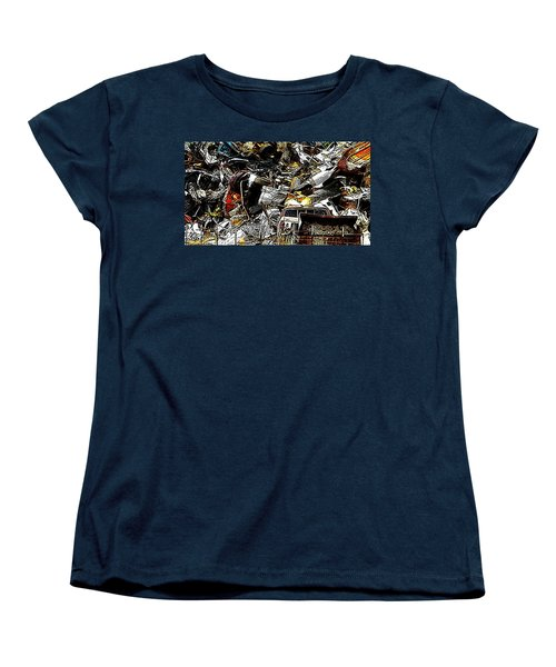 Women's T-Shirt (Standard Cut) featuring the photograph Junky Treasure 2 by Lydia Holly