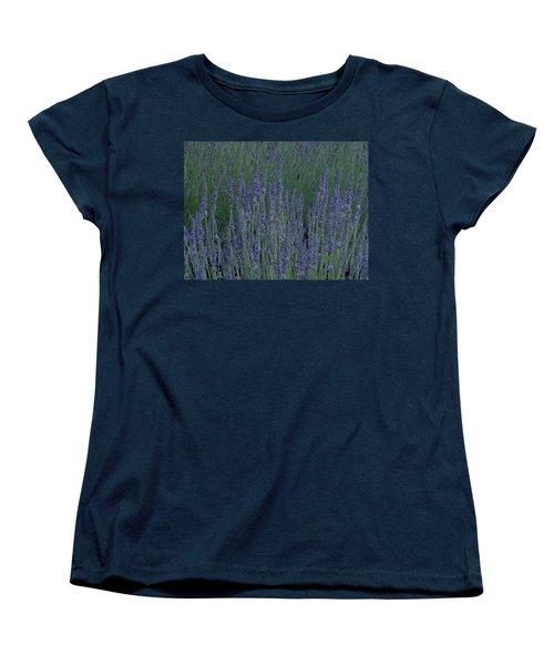 Women's T-Shirt (Standard Cut) featuring the photograph Just Lavender by Manuela Constantin