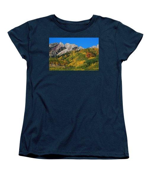 Women's T-Shirt (Standard Cut) featuring the photograph Kebler Pass by Jim Garrison