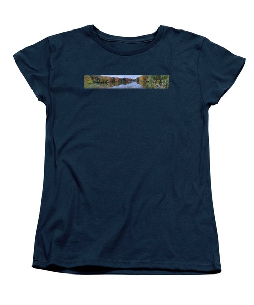 Women's T-Shirt (Standard Cut) featuring the photograph Lake Eastman by William Norton
