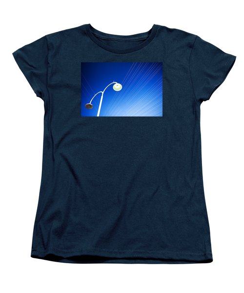Lamp Post And Cables Women's T-Shirt (Standard Cut)