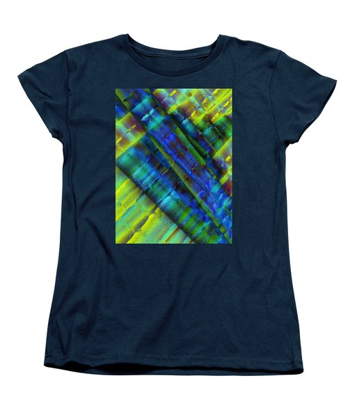 Women's T-Shirt (Standard Cut) featuring the photograph Layers Of Blue by David Pantuso