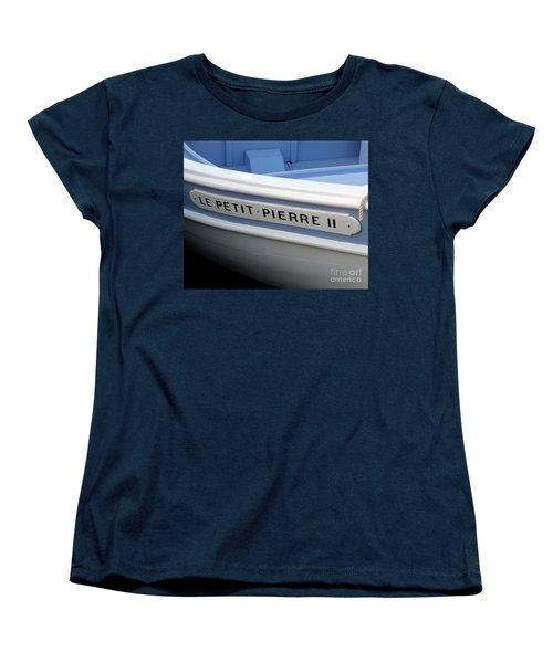 Women's T-Shirt (Standard Cut) featuring the photograph Le Petit Pierre II by Lainie Wrightson