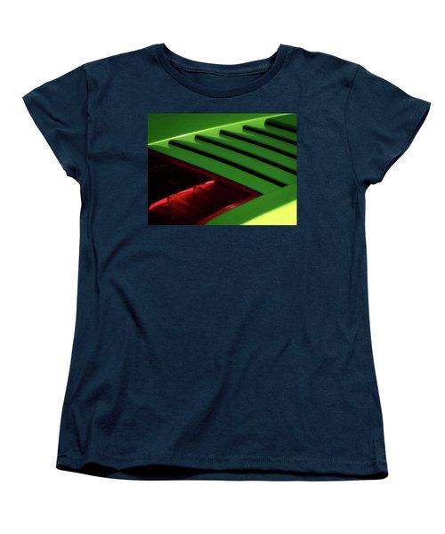 Lime Light Women's T-Shirt (Standard Cut) by Douglas Pittman