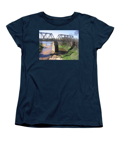 Little Llano Creek Women's T-Shirt (Standard Cut) by Mark Robbins
