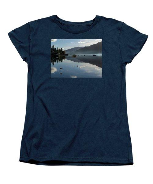 Women's T-Shirt (Standard Cut) featuring the photograph Lochgoilhead by Lynn Bolt