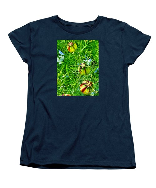 Women's T-Shirt (Standard Cut) featuring the photograph Love In A Mist by Steve Taylor