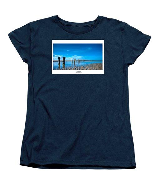 Low Tide Women's T-Shirt (Standard Cut) by Beverly Cash