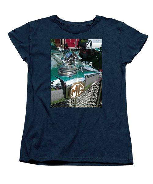 M G Hood 2 Women's T-Shirt (Standard Cut) by Anna Ruzsan