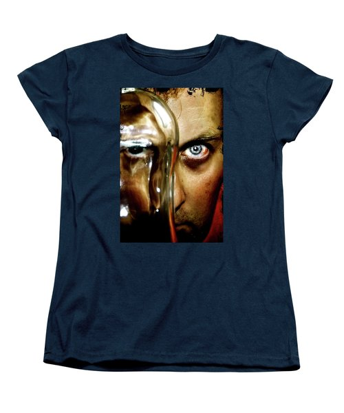 Women's T-Shirt (Standard Cut) featuring the photograph Mad Man by Pedro Cardona