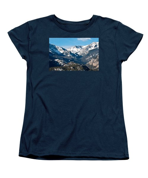 Majestic Rockies Women's T-Shirt (Standard Cut) by Colleen Coccia