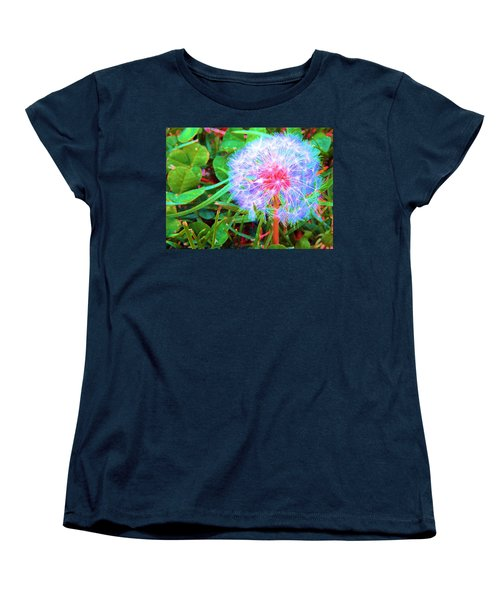 Women's T-Shirt (Standard Cut) featuring the photograph Make A Wish by Susan Carella