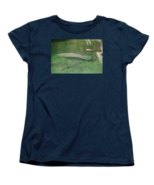 Manatee Women's T-Shirt (Standard Cut)