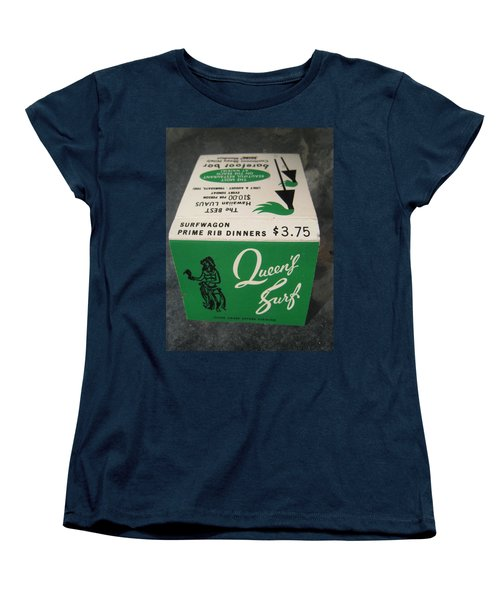Women's T-Shirt (Standard Cut) featuring the photograph Matchbooks For Hawaii Two by John King