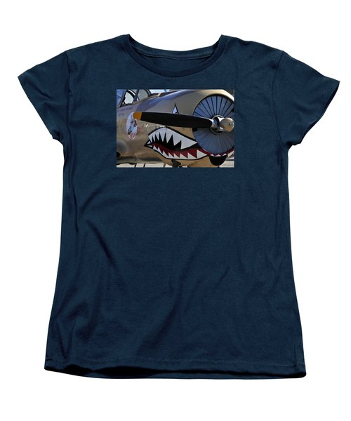 Mean Machine Women's T-Shirt (Standard Cut) by David Lee Thompson