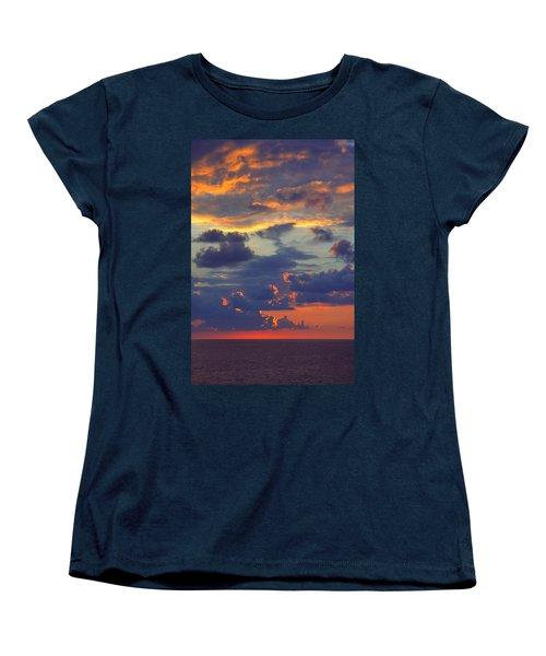 Mediterranean Sky Women's T-Shirt (Standard Cut) by Mark Greenberg