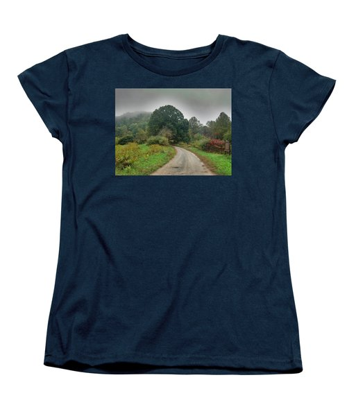 Women's T-Shirt (Standard Cut) featuring the photograph Mills Ridge by Janice Spivey