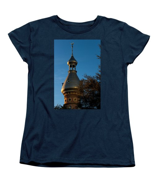 Women's T-Shirt (Standard Cut) featuring the photograph Minaret And Trees by Ed Gleichman