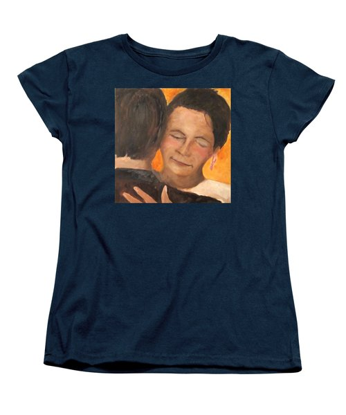 Women's T-Shirt (Standard Cut) featuring the painting My Favorite Place by Keith Thue