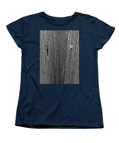 Women's T-Shirt (Standard Cut) featuring the photograph My Fence by Bill Owen