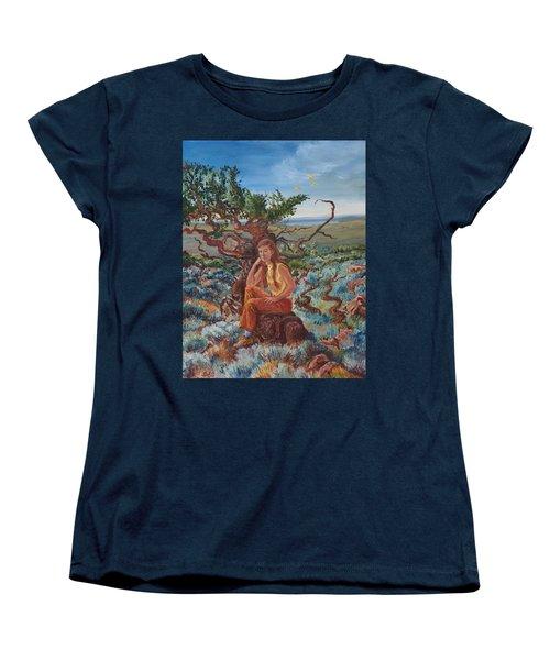 My Sister Lenore In The Cedar Breaks Women's T-Shirt (Standard Cut) by Dawn Senior-Trask