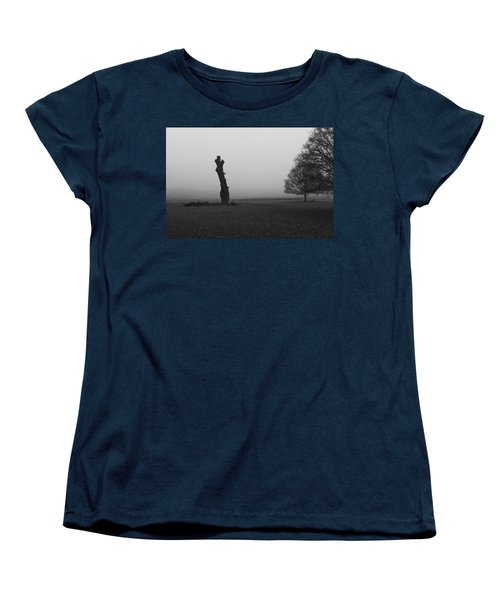 Women's T-Shirt (Standard Cut) featuring the photograph Naked Tree by Maj Seda