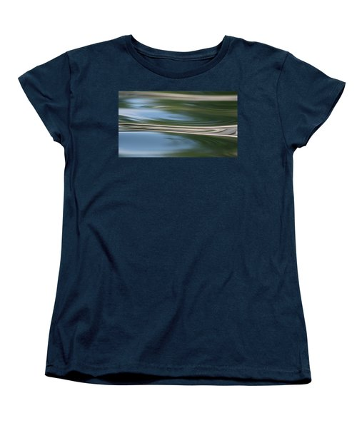 Women's T-Shirt (Standard Cut) featuring the photograph Nature's Reflection by Cathie Douglas
