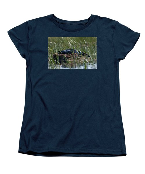 Nesting Loon Women's T-Shirt (Standard Cut) by Brent L Ander