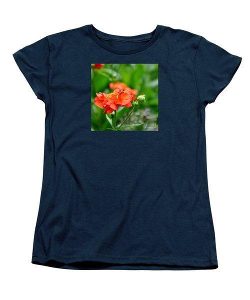 Women's T-Shirt (Standard Cut) featuring the photograph Never Boring Red And Green by Tanya  Searcy