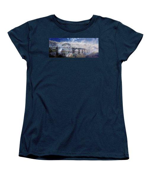 Newport Fantasy Women's T-Shirt (Standard Cut) by Mick Anderson