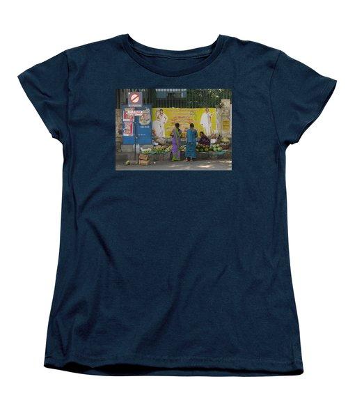 Women's T-Shirt (Standard Cut) featuring the photograph No Parking by David Pantuso