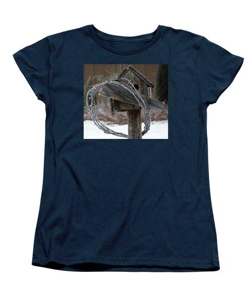 Nobody Home Women's T-Shirt (Standard Cut) by Dorrene BrownButterfield
