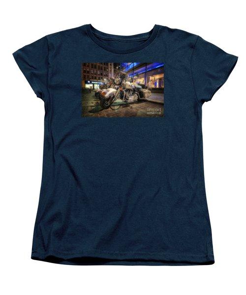 Nypd Bikes Women's T-Shirt (Standard Cut) by Yhun Suarez