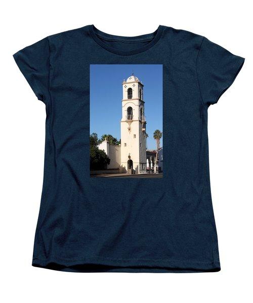 Ojai Post Office Tower Women's T-Shirt (Standard Cut) by Henrik Lehnerer