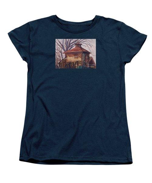 Old Garage Women's T-Shirt (Standard Cut)