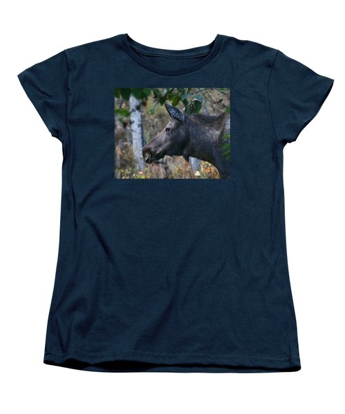 Women's T-Shirt (Standard Cut) featuring the photograph On Alert by Doug Lloyd