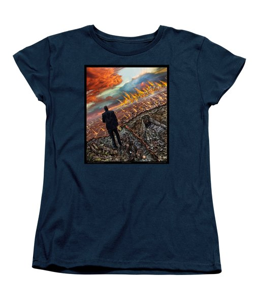 One Percent  Women's T-Shirt (Standard Cut) by Tony Koehl