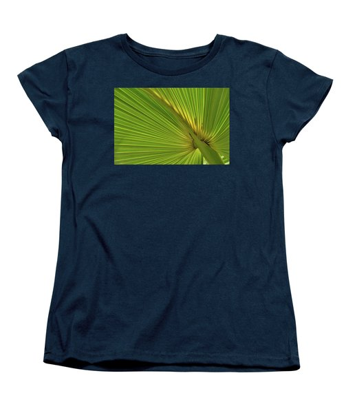 Women's T-Shirt (Standard Cut) featuring the photograph Palm Leaf II by JD Grimes