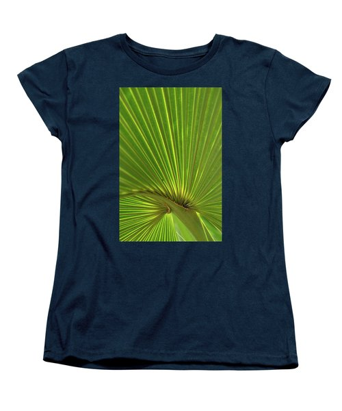 Women's T-Shirt (Standard Cut) featuring the photograph Palm Leaf by JD Grimes