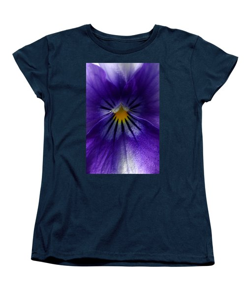 Pansy Abstract Women's T-Shirt (Standard Cut) by Lisa Phillips